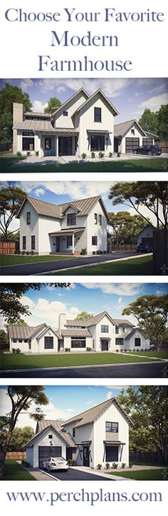 Premium house plans at reasonable prices. Shop www.perchplans.com to find your favorite!