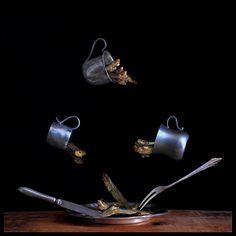 """Popatrz na mój projekt w @Behance: """"Flying food"""" https://www.behance.net/gallery/55220843/Flying-food"""