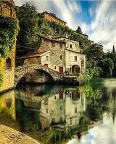 Nesso, Como. Italy.