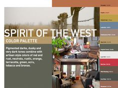 Dunn-Edwards' Spirit of the West palette.  The red is my go-to choice.  Yours?