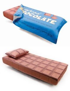 Chocoholic's perfect bedding.