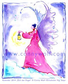 """Engel des Monats November und seine Botschaft: """"Warten, bangen, hoffen ... folge dem Licht, selbst wenn Du den Weg nicht sehen kannst."""" Als sich dieser Engel vor über einem Jahr für den Monat Nov..."""