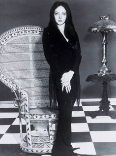 Morticia Frump Addams (Carolyn Jones) / The Addams Family