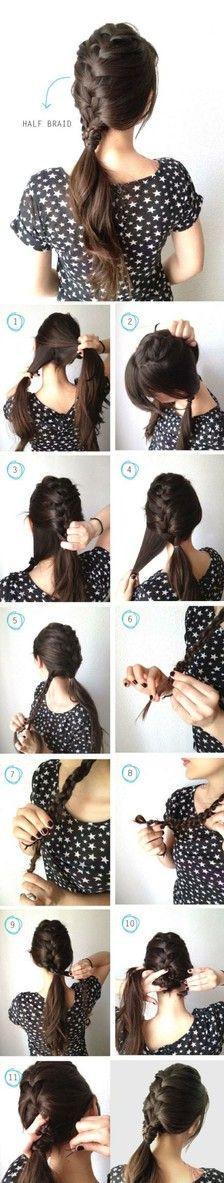 Mimi's braided hair tutorial