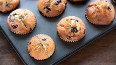 Super healthy, super delicious 3-ingredient muffins