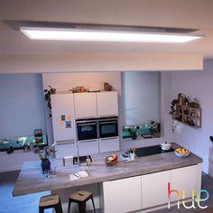 Wofi LED Design Deckenleuchte Chrom Ø70 cm dimmbar Deckenlampe Wohnzimmer Flur