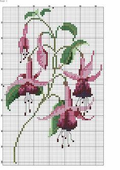 cross stitch flowers and butterflies Cross Stitch Cards, Cross Stitch Flowers, Counted Cross Stitch Patterns, Cross Stitch Designs, Cross Stitching, Hardanger Embroidery, Cross Stitch Embroidery, Embroidery Patterns, Loom Patterns