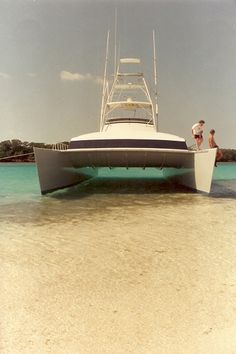 Boating and Boat Show Photos - Show us your Fishing Catamarans - and mine. Power Catamaran, Top Boat, Build Your Own Boat, Cool Boats, Boat Building Plans, Houseboats, Outdoor Photos, Super Yachts, Pontoon Boat