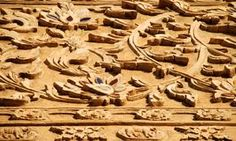 Plant Carving On Wood - Download From Over 48 Million High Quality Stock Photos, Images, Vectors. Sign up for FREE today. Image: 12598541