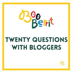 Interviewing your favourite parent bloggers and finding out what makes them tick!