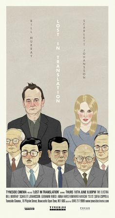 Paul Johnson's Lost In Translation movie poster (Sadly I cannot find a Paul Johnson website: http://en.wikipedia.org/wiki/Paul_Johnson_%28artist%29)