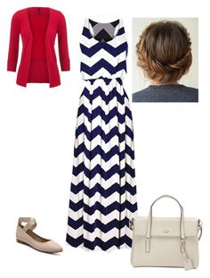 """Untitled #520"" by brendansara1018 on Polyvore featuring Audrey Brooke and Kate Spade"
