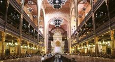 Dohany Street Synagogue, one of the largest in Europe