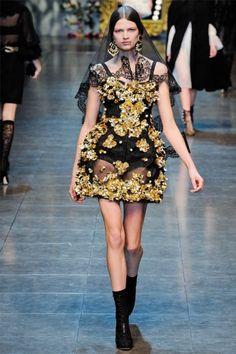 Dolce & Gabbana A/W 2012