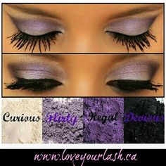These colours are so pretty together!  Order from my link www.loveyourlash.ca