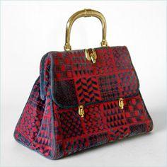 Roberta di Camerino velvet handbag