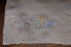 beautiful mix of crochet and embroidery, from resurrectionfern