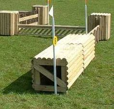 Getting ideas going to have a go at making a small cross country course in my field