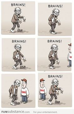 How to be zombie proof. See, it's funny because...