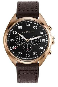 Esprit Dress Watch For Men Analog Stainless Steel - Window Types, Casio, Egypt, Latest Fashion, Watches For Men, Quartz, Michael Kors, Stainless Steel, Band