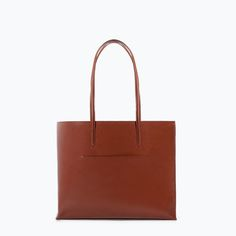 Image 1 of SHOPPER BAG WITH POCKET from Zara