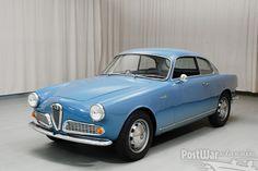 Alfa Romeo Giulietta Sprint Coupe 1960 for sale 1