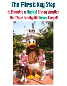 Walt Disney World vacation planning tips and ideas with kids -- Are you a first-timer planning a Disney trip for your family? You may be spending your time thinking about value vs. deluxe resorts, character meals, fastpasses, and whether to get park hopper tickets. But wait! Don't do anything until you take this first key step. Click to discover what it is. Disney On A Budget, Disney World Vacation Planning, Walt Disney World Vacations, Disney Trips, Disney Parks, Family Vacations, Trip Planning, Disney World Secrets, Disney World Outfits