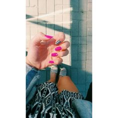 #nails #summernails #hybrid