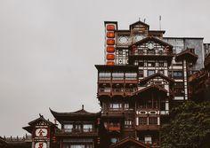 Chongqing China, Tianjin, Chinese Garden, Beijing, Big Ben, Places To Visit, Tumblr, Architecture, Awesome
