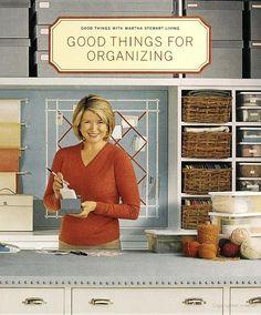 Martha Stewart organizing tips