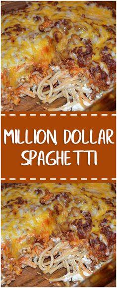 MILLION DOLLAR SPAGHETTI #milliondollarspaghetti #spaghetti #easyrecipe #delicious #foodlover #homecooking #cooking #cookingtips