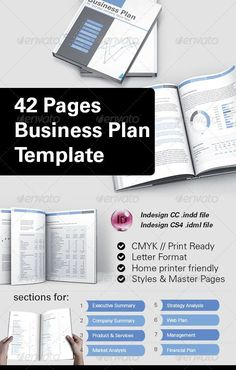 Sample one page business plan template self employment entrepreneur 42 business plan template for indesign accmission Choice Image