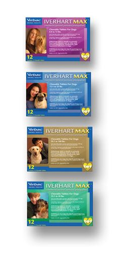Iverhart dogs only- a pill for heartworm prevention that needs to be given once monthly
