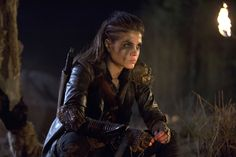 """cwthe100: """" A warrior doesn't worry about what she can't control. """""""