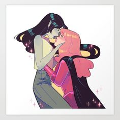 the bubbline finale Art Print by casanovakevin | Society6