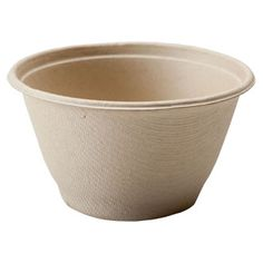 Biodegradable Natural Plant Fiber Bowls, 11.8 oz. Barreled Bowl » Compostable
