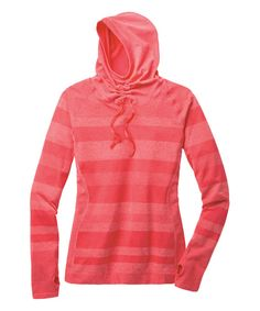 Look at this Heather Punch Fusion Hoodie - Women on #zulily today!