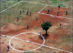 African football pitch!!