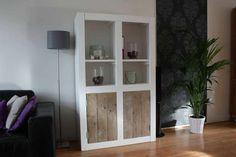 Kast van steigerhout Sara - Steigerhout Furniture | Unieke steigerhouten meubelen & tuinmeubelen op maat gemaakt!