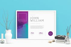 Modern Certificate 02 by aarleykaiven on Envato Elements Certificate Of Completion Template, Certificate Of Achievement Template, Certificate Design Template, Award Certificates, Design Templates, Certificate Layout, Envato Elements, Award Template, Certificate Of Appreciation