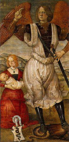 Archangel St Michael 1480 Bartolomeo Della Gatta