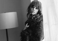 Freja Beha Erichsen is Hippie Chic for Zaras Fall 2012 Campaign