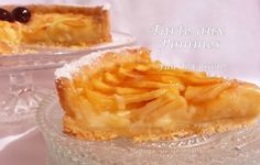 Tarte aux pommes Camembert Cheese, Dairy, Pie, Desserts, Food, Apple Pie, Drizzle Cake, Sweet Recipes, Kitchens
