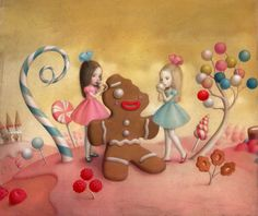 Material Girls -Nicoletta Ceccoli