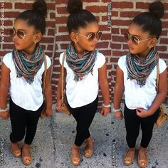 Say hello to my future daughter  #I <3 Scarfs