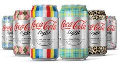 Coca-Cola chilena cria edição limitada de latinhas conectadas com as tendências mundiais de moda baseadas no conceito 'Viver mais leve'.