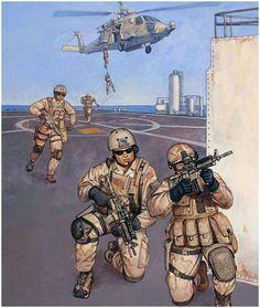 U.S. Troops, Second Gulf War