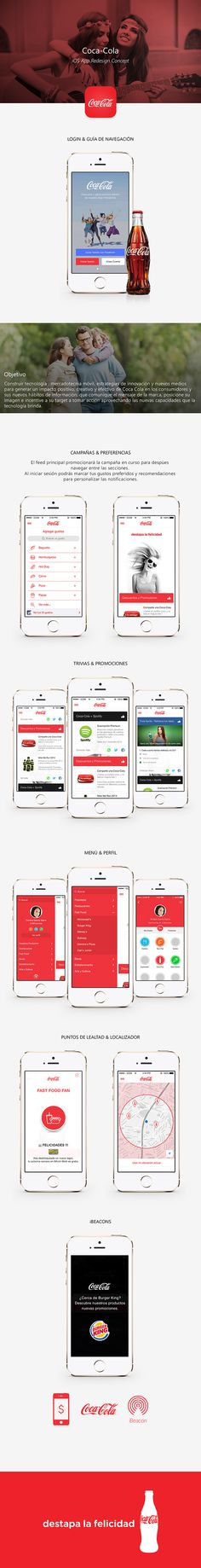 COCA COLA APP on Behance