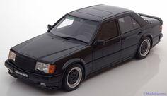 Strassen-Fahrzeuge Otto Mobile 1:18 Mercedes 300E 5.6 AMG W124    schwarz Limited Edition 2000 pcs. www.modelissimo.de