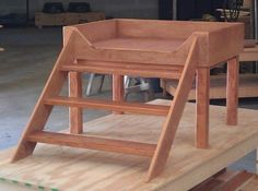 Hand Crafted Custom Dog Bed by Mid-South Bunk Beds | CustomMade.com